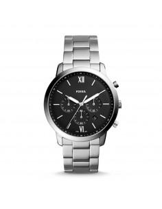 Orologio cronografo uomo acciaio Fossil Neutra nero FS5384