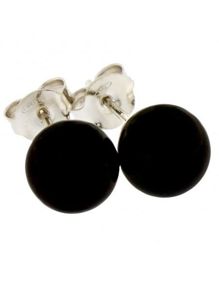 Orecchini perle 6 - 6.5mm classe AAA con montatura in Oro bianco 18kt Miyu Pearl