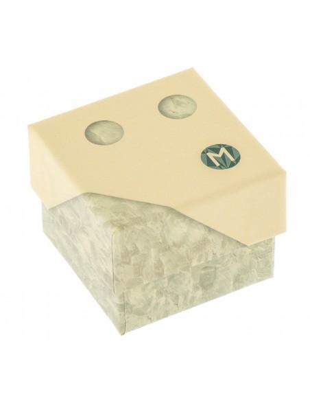 Orecchini perle 5.5 - 6mm classe AAA con montatura in Oro bianco 18kt Miyu Pearl