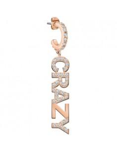 Orecchino singolo Donna Exigo mod LPS02ARQ89 in Ottone colore Oro rosa