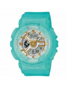 Orologio Donna Casio BABY-G in Resina BABY-G Multifunzione BA-110SC-2AER Verde