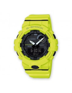Orologio uomo digitale Casio G-SHOCK G-SQUAD bluetooth giallo nero GBA-800-9AER