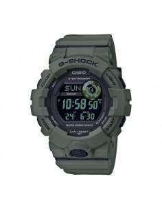 Orologio uomo digitale Casio G-SHOCK G-SQUAD bluetooth verde nero GBD-800UC-3ER