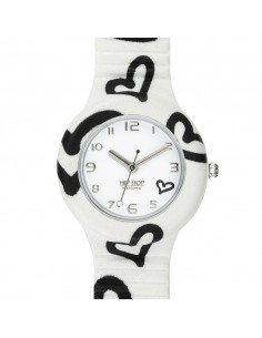 Orologio donna Hip Hop Be Loved White bianco solo tempo HWU0905