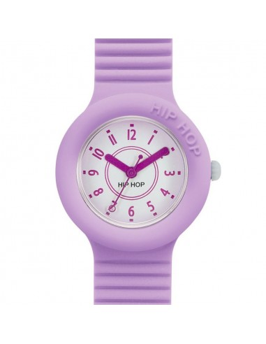 Acquista Orologio donna Hip Hop Numbers solo tempo Orchid Bloom lilla HWU0627