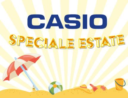 Offerte speciali su tutto il catalogo orologi Casio